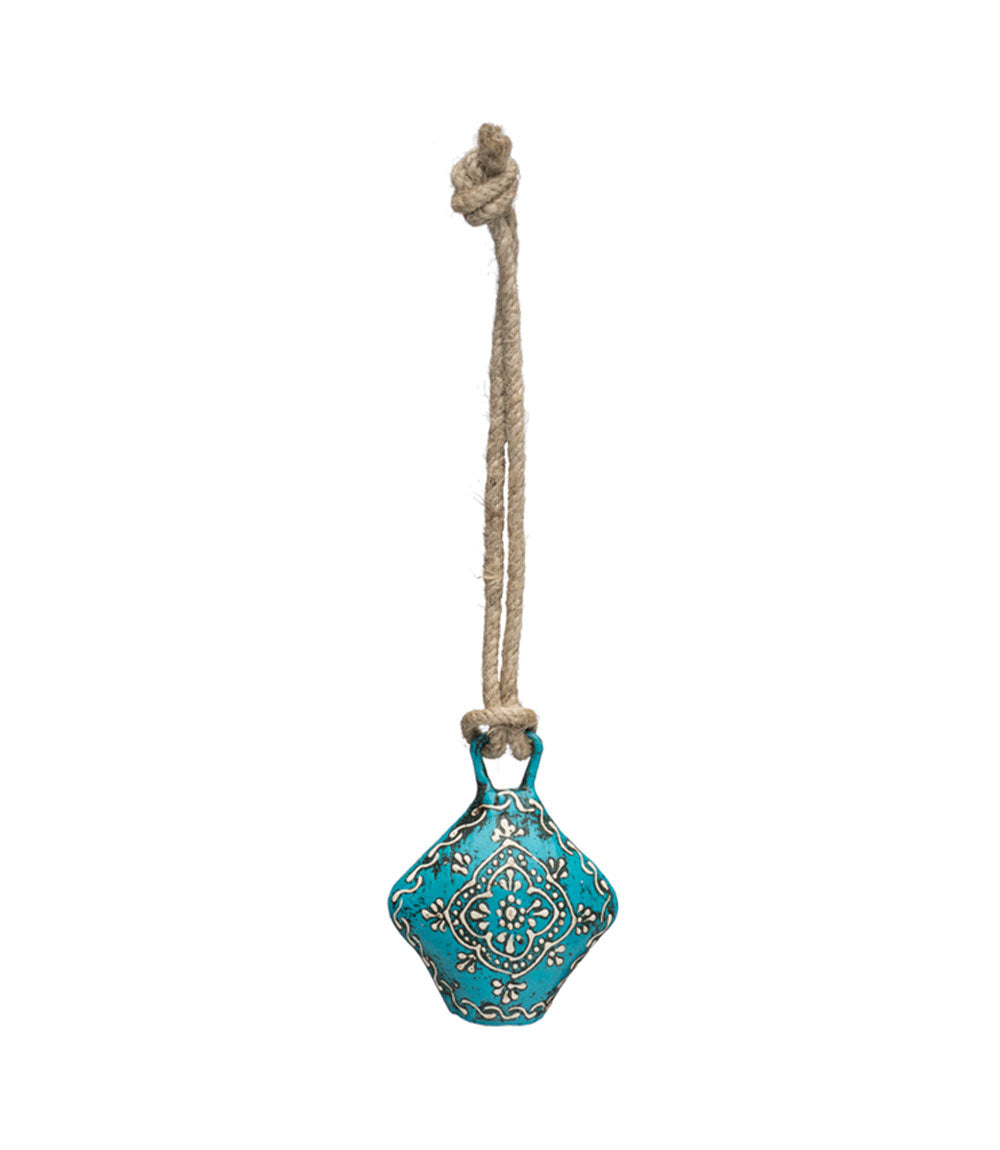 Henna Treasure Bell - Small Teal