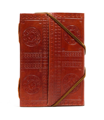 Indukala Leather Journal - Crescent