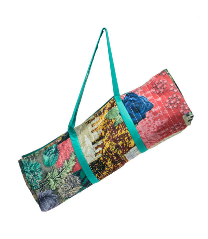 Upcycled Sari Yoga Bag - Assorted