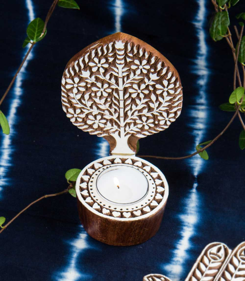 Aashiyana Tea Light Holder - Tree