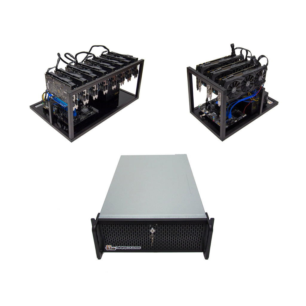 Mining Rigs and Servers