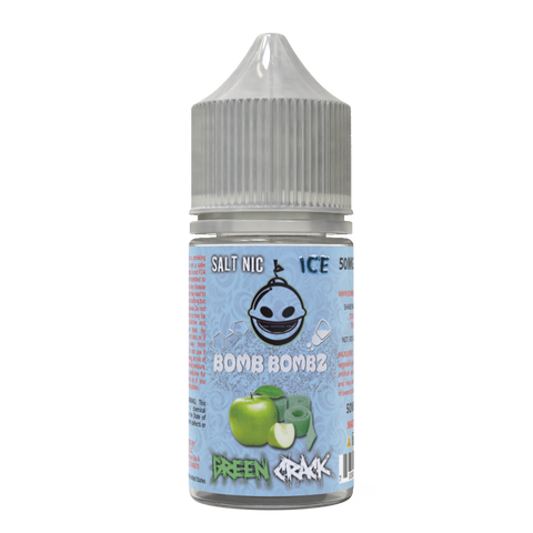 Green Crack SaltNic Ice Series - [bomb-bombz-e-liquid]