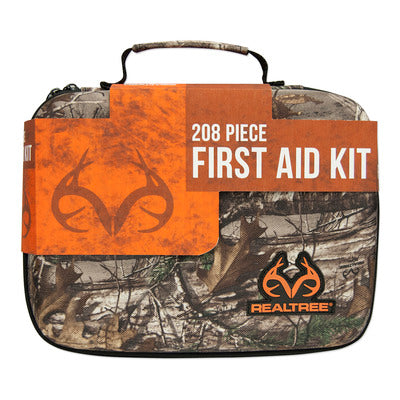 Lifeline Realtree Premium Hard-Shell Foam First Aid Kit - 208 Piece