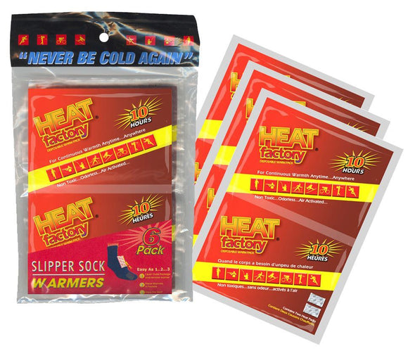 19633 - Heated Slipper Sock Refill 3Pk