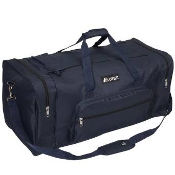 Everest Luggage Classic Gear Bag - Large - Navy