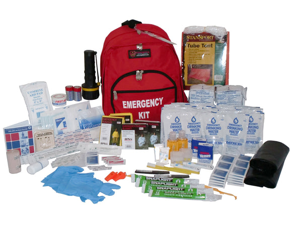 72 Hour Survival Kit - 2 Person - 3 Day Emergency Supply Kit
