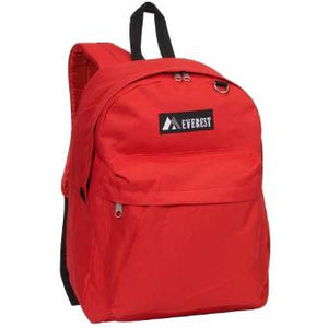Everest Luggage Classic Backpack - Red