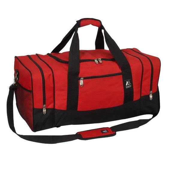 Everest Luggage Sporty Gear Bag - Large - Red/Black