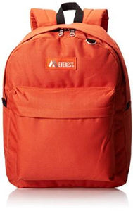 Everest Luggage Classic Backpack - Rustic Orange