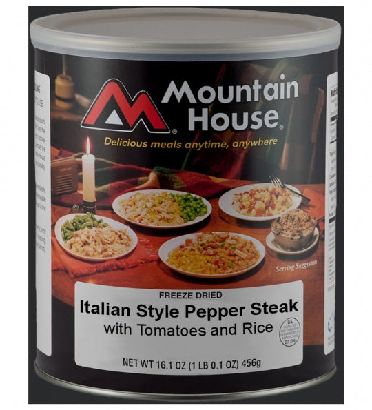 [Discontinued] Italian Style Pepper Steak with Rice