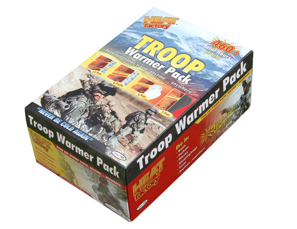 1204 - Troop Warmer Pack Variety Box