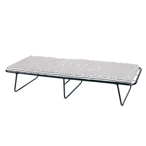 Steel Cot With Mattress - 75