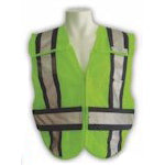5-Point Breakaway Mesh Safety Vest - Police Rated
