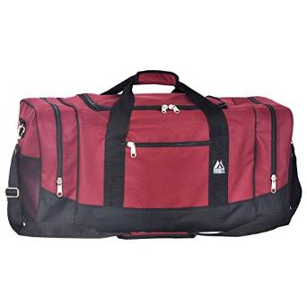 Everest Crossover Duffel Bag - Large  - Burgundy