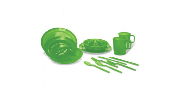 Polyware Set- 2 Person - Green
