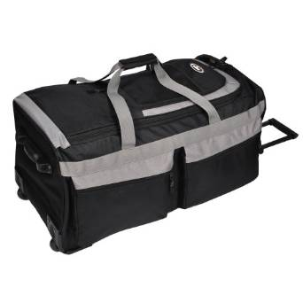 Everest Luggage Rolling Duffel Bag - Large - Black
