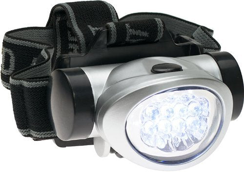 8-LED Flashlight/Head Lamp