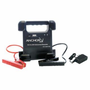 ANCHOR BRAND- Intelligent Jump Starters, 500 A, Boost 250 A