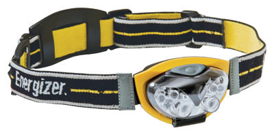 Energizer Yellow LED Headbeam Flashlight (Includes 3 AAA Batteries)