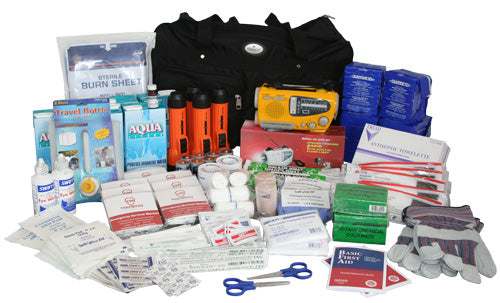 Deluxe Office Survival Kit - 25 Person Safety Kit