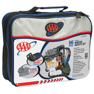 Lifeline AAA Winter Safety Kit - 66 Piece