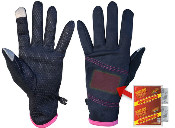 915-BK- Ladies Mid-Weight Pocket Glove - Pair
