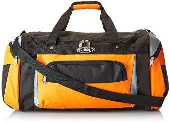 Everest Deluxe Sports Duffel Bag  - Orange