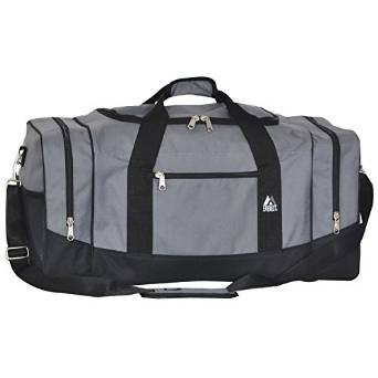 Everest Crossover Duffel Bag - Large  - Dark Gray