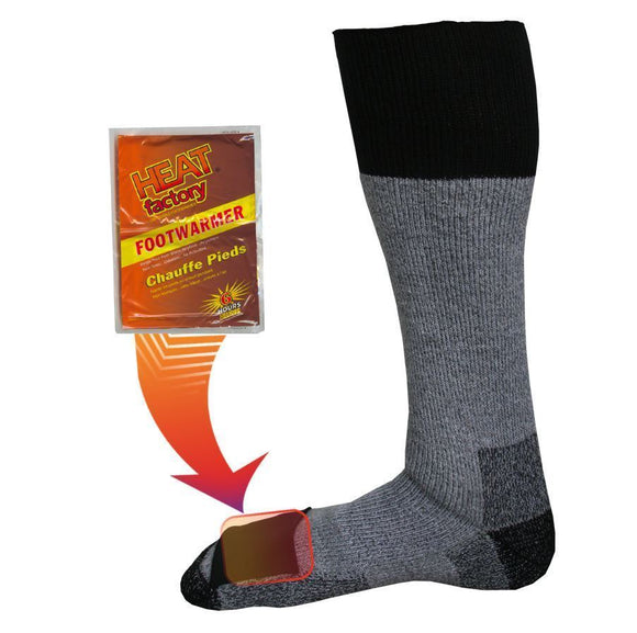 1502 - Heated Merino Wool Socks - Pair
