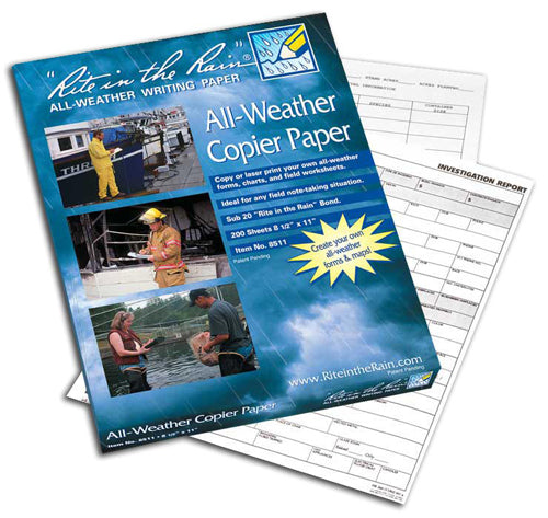 All-Weather Copier Paper - 200 Sheets (8 1/2