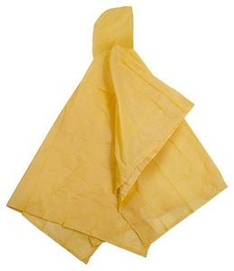 Vinyl Fashion Poncho - 52IN X 80IN - Yellow