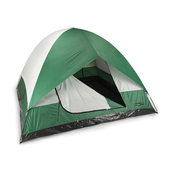 El Capitan 3 Season Tent-11FT x 11FT x 78IN - Green/Grey