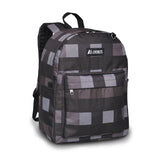 Everest-Pattern Printed Backpack