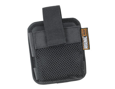 Ergodyne Arsenal 5592 Pals Black Polyester And PVC Gas Detector Pouch