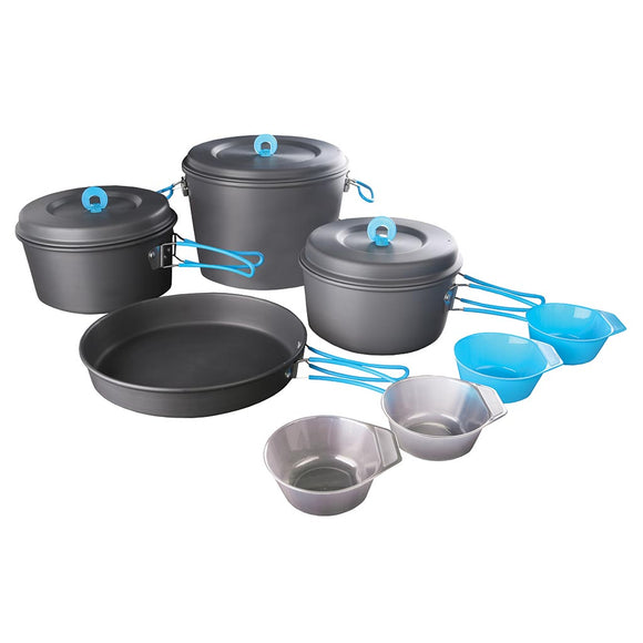 Family Cook Set - Hard Anodized Aluminum