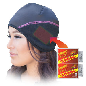 597 - Heated Contour Beanie Ladies