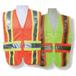 ANSI Certified Mesh Expandable DOT Vest