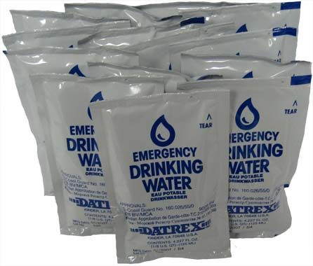 Datrex Emergency Water Packet - 3 Day/72 Hour Supply
