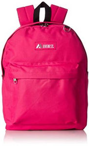 Everest Luggage Classic Backpack - Hot Pink