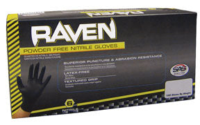 Raven Nitrile Powder Free Gloves- CASE