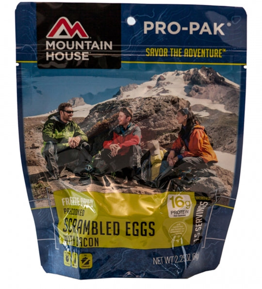 Scrambled Eggs with Bacon - PRO-PAK - Case (6 Pouches)