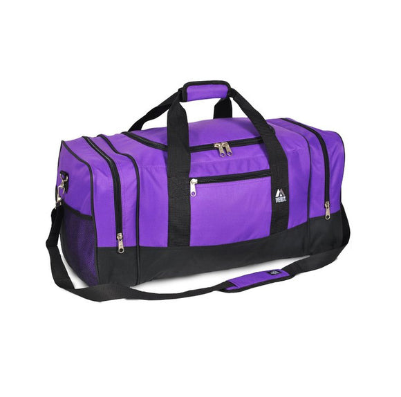Everest Luggage Sporty Gear Bag - Large - Dark Purple