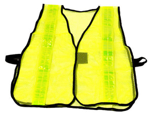 Hi-Vis Lime Safety Mesh Vest