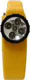 Solar/Crank 5-LED Flashlight with AM/FM Radio, Phone Charger, 8-LED Emergency Lamp, and Siren