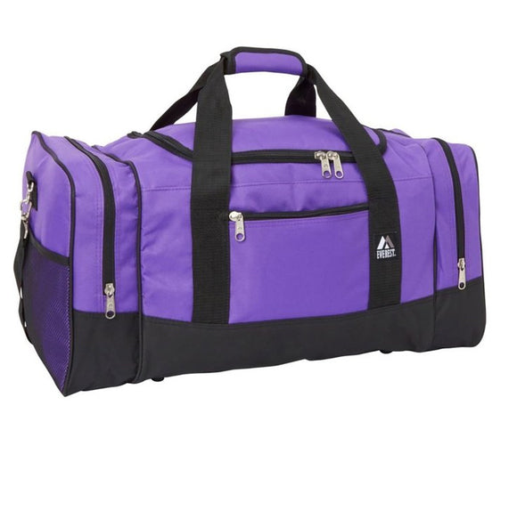 Everest Luggage Sporty Gear Bag - Large - Purple