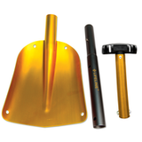 Lifeline Aluminum Utility Shovel - Gold/Black