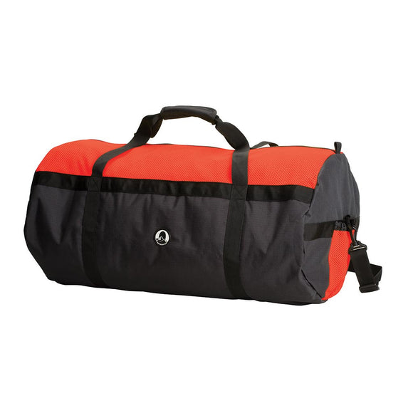 Mesh Top Roll Bag ƒ?? 14In X 30In - Red/Black