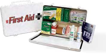 Truck First Aid Kit Large Steel