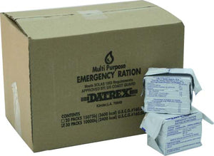 Datrex 2400 Emergency Food Bar - Case of 30 Emergency Rations