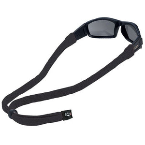 Original Cotton Large End Eyewear Retainers - Black